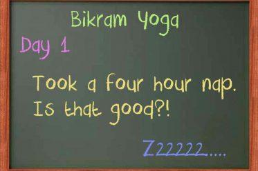 Bikram Day 1