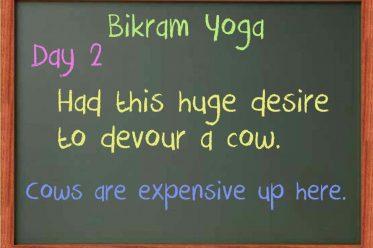 Bikram Day 2