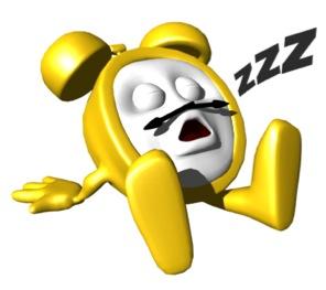 Snoozing Clock