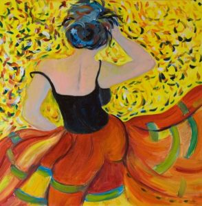 Salsa Dancer by Delilah Smith